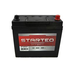 BATTERIE STARTEO ST-N45D45 DEMARRAGE 12V 45AH 345A