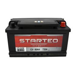 BATTERIE STARTEO ST-LB4D80 DEMARRAGE 12V 80AH 720A