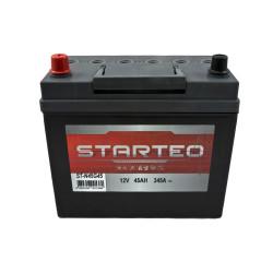 BATTERIE STARTEO ST-N45G45 DEMARRAGE 12V 45AH 345A