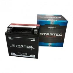 STARTEO MOTO YTX14-BS SANS ENTRETIEN 12V 12AH
