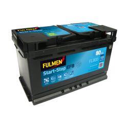 BATTERIE FULMEN START/STOP EFB FL800 12V 80AH 720A