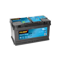 BATTERIE FULMEN START/STOP EFB FL752 12V 75AH 730A