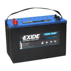 EXIDE MARINE DUAL EP900 DÉCHARGE LENTE AGM 12V 100AH