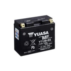 BATTERIE YUASA MOTO YT12B-4 / YT12B-BS SANS ENTRETIEN 12V 10AH