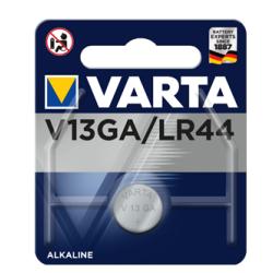 PILE BOUTON ALCALINE VARTA LR44 V13GA A76