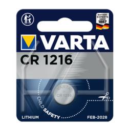 PILE BOUTON LITHIUM VARTA CR1216