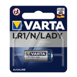 PILE ALCALINE VARTA LR1 / N 1.5V BISTER DE 1