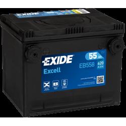 EXIDE EXCEL USA 12V 55AH 620A - BAC MF75