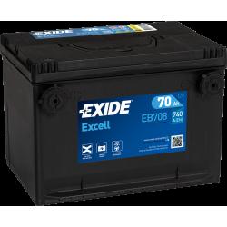 EXIDE EXCEL USA 12V 70AH 740A - BAC MF78