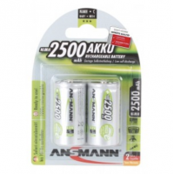 ANSMANN 5030912 ACCU BLISTER DE 2 LR14 2500 MAH NIMH