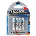 ANSMANN 5035232 ACCU BLISTER DE 4 LR03 1100MAH NIMH