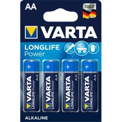 PILE ALCALINE VARTA LR06 / AA 1.5V BLISTER DE 4