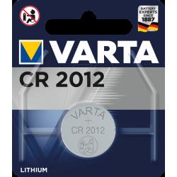 PILE BOUTON LITHIUM VARTA CR2012