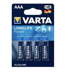 PILE ALCALINE VARTA LR3 / AAA 1.5V BLISTER DE 4