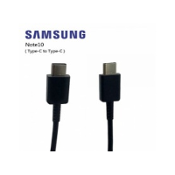 CABLE SAMSUNG USBC VERS USBC POUR NOTE 10 NOIR - ORIGINE