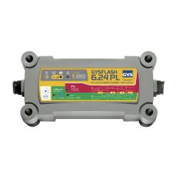 CHARGEUR AUTOMATIQUE GYS GYSFLASH6.24PL LITHIUM/PLOMB 24V 6A - 027398