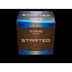 STARTEO MOTO YT14B-4 / YT14B-BS SANS ENTRETIEN 12V 12AH